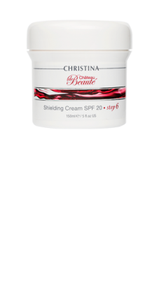 CHATEAU DE BEAUTE SHIELDING CREAM SPF 20