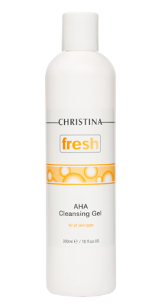 AHA CLEANSING GEL FOR ALL SKIN TYPES