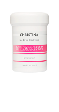 SEA HERBAL BEAUTY MASK STRAWBERRY FOR NORMAL SKIN