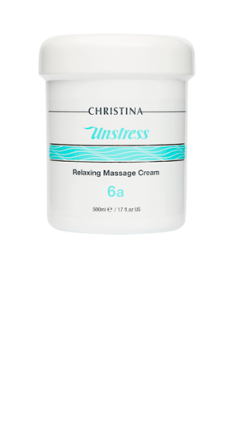 UNSTRESS RELAXING MASSAGE CREAM