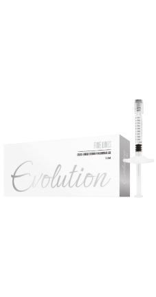 Evolution FINE LINES CROSS-LINKED FILLER 18 MG/ML