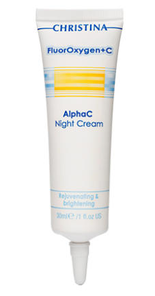 FLUOROXYGEN+C ALPHAC NIGHT CREAM