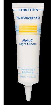 FLUOROXYGEN+C ALPHAC NIGHT CREAM